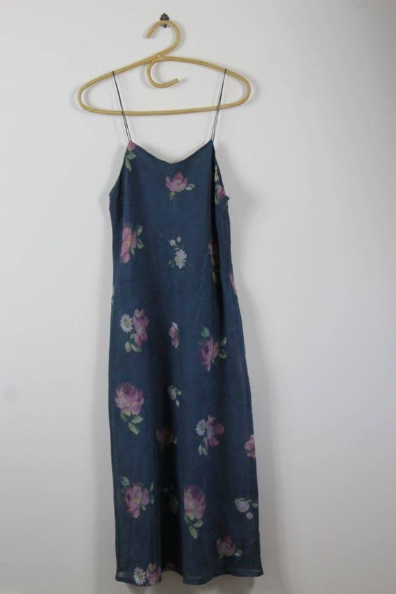 Vintage 90's Floral Slip Dress // Sportsgirl by Etsy