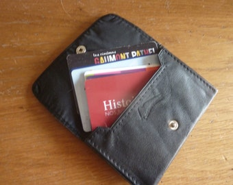 case business card case leather business card, for her business card case