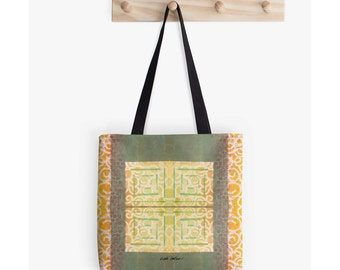 Carry All Bag, Tote Handbags, Unique Back to School Supplies, Best Gifts for Artists, Art Student Gifts, Festival Tote Bag, Boho Tote Bag