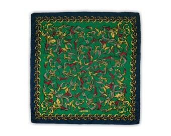 Felix Buhler, silk scarf, women's accessories.