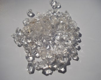 Herkimer Diamonds - NY Herkimers Lot - 13 Ct Tinies Herkimers Energy Gems GR201