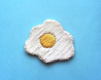 Sunny Side Egg Embroidered Patch