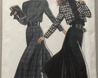 Vintage New Look Sewing Pattern 6017,  Misses' Dress and Jacket