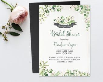 Unique Bridal Shower Invitations Etsy