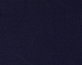 Navy Brushed Duck Canvas Fabric 4 Headboard Apparel Bags Drapery