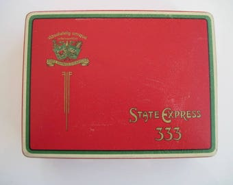 State Express 333 cigarette tin (100) by Ardath Tobacco Company c.1930/50