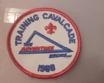 Training Cavalcade The Adventure Begins 1988 Patch
