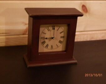 Small Primitive Mantel Clock