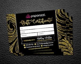 Paparazzi gift card | paparazzi gift certificate | Card 6x4 | paparazzi jewelry accessories | paparazzi business | Paparazzi gift card |