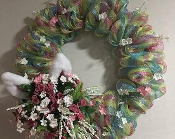 Easter Bunny Ears Wreath