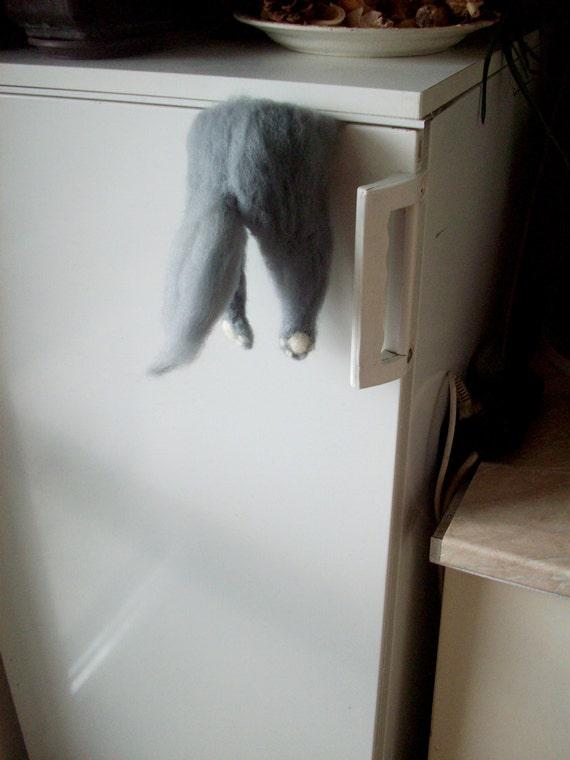 lustiger Magnet lustige Katze Kühlschrank-Magnet