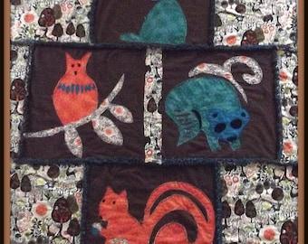 Woodland Animal Quilt