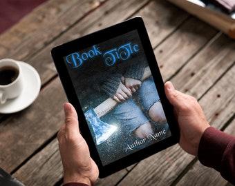 "Premade Ebook Cover ""Frozen Axe"" Fiction Literary Fiction YA Adventure Fantasy"