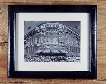 Ebbets Field - Classic Brooklyn Dodger Ballpark 1947 World Series - Vintage Sports Wall Art