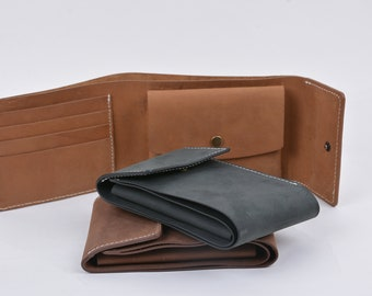 Hand Made Full Grain Leather Wallet