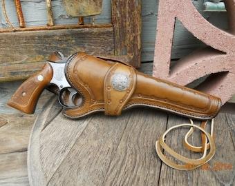 Custom Leather Holster - Pistol Holster - Revolver Holster - Made to order Handgun Holsters
