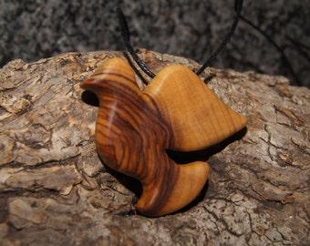 Dove - Olive wood