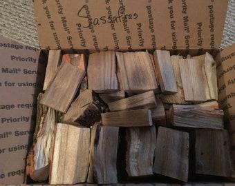 Sassafras wood chunks for smokers