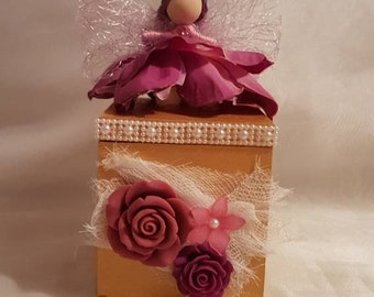 Fairy doll trinket box