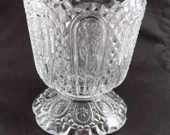 Vintage Avon Fostoria Candle Holder
