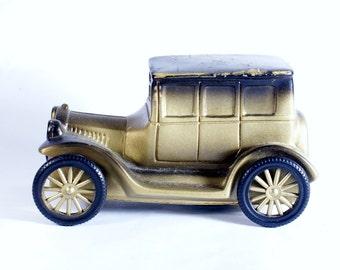 1926 Model T Coin Bank Vintage Banthrico Ford Car Piggy Sedan 4 Door Savings