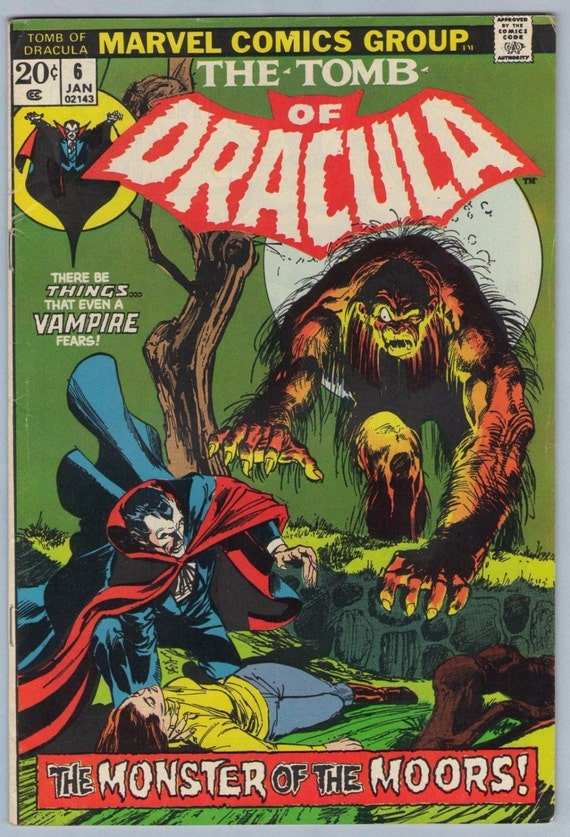 Tomb of Dracula 6 Jan 1973 FI (6.0)