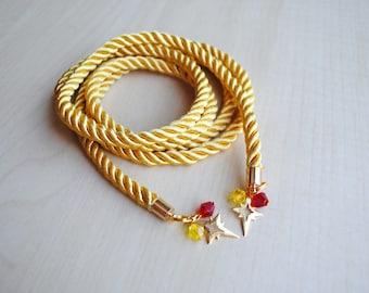 Lasso of Truth Choker -- Wonder Woman Collection -- Diana Prince -- Wonder Woman Necklace -- Fandom Fashion -- Geek Jewelry