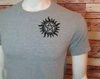 Supernatural Anti-Demon-Possession  Tattoo T-Shirt