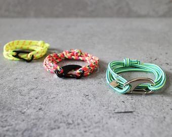 Cord Tiga - custom sailing cord wrap bracelet, adjustable