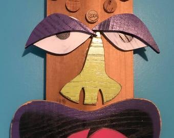 Tiki Head Original design