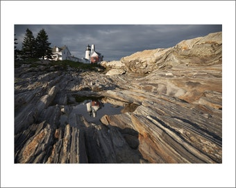 Pemaquid Point Lighthouse - Maine - Color Photo Print - Fine Art Photography (LM09)