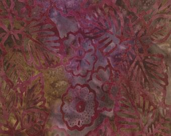 Jewel Exotic Blooms Fabric - Moda - Cabana Batiks