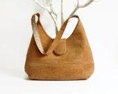 Natural Cork Handmade Bag / Eco Friendly Handbag / Gift Idea for Her