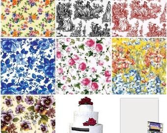 Vintage Mosaics Decorative Ceramic Tile Pieces - Multiple Patterns