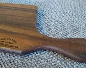 Black Walnut cutting board with handle