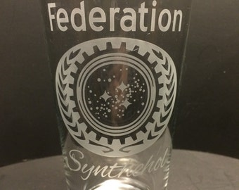 Star Trek Glass