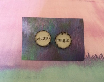 Wizard Magic - Harry Potter Earrings - Made to Order
