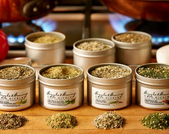 Sizzle & Swing Finest Quality Herbal Seasonings.
