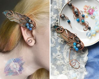 "Ear cuff ""Birds in the sky"" 