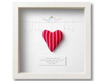 Personalised gift for Valentine's day, wedding or love picture frame
