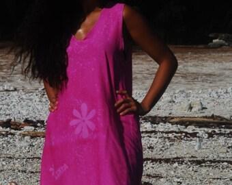 Sundress of cotton voile