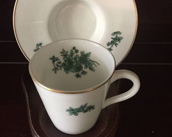 Vintage Demitasse Cup and Saucer, made in Portugal