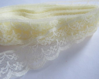 Pale yellow lace