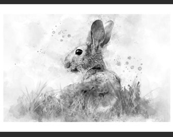March Hare Print - A3