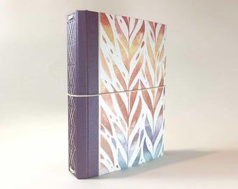 CitriDori Travelers Notebook 'Autumn Vines' Print: Hard Cover Refillable Journal, Bookdori, Midori, Fauxdori, Fabridori, Bullet Journal