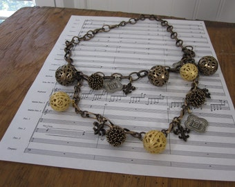 jingly jangly necklace