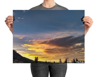 Frisco Sunset Poster/Print/Wall Art/Colorado/Photography/Landscape Photography/Nature Photography