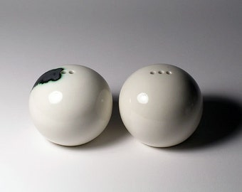 Salt and Pepper Shakers - Spheres with Character
