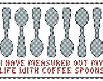 """With Coffee Spoons - Original Cross Stitch Chart 