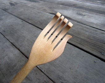 Wooden Back Scratcher Muscle Relaxing Tool Handmade High Quality